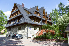 Gran, Holiday House in Zakopane Royalty Free Stock Photo