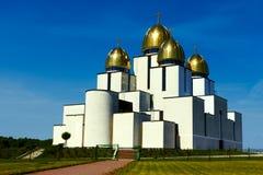 Gran iglesia Imágenes de archivo libres de regalías