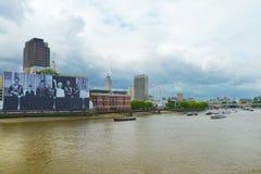 Gran imagen de la familia real en Londres Foto de archivo libre de regalías