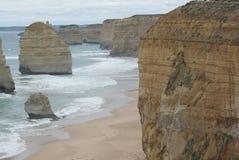 Gran impulsión del camino del océano fotografía de archivo libre de regalías