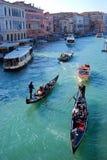Gran kanal, Venecia Royaltyfri Foto