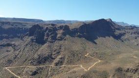Gran kanjon Canarias royaltyfria bilder