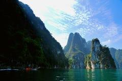 Gran lago Fotografía de archivo