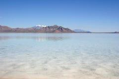Gran Lago Salato Fotografie Stock Libere da Diritti