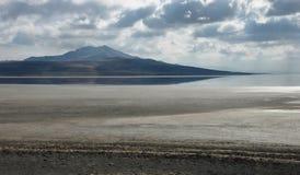 Gran Lago Salato Fotografie Stock