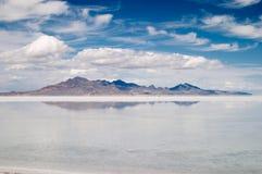 Gran Lago Salato Immagini Stock Libere da Diritti