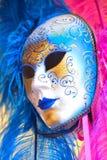 Gran máscara veneciana tradicional Fotografía de archivo