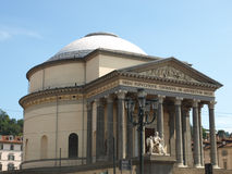 Gran Madre church, Turin Royalty Free Stock Photography