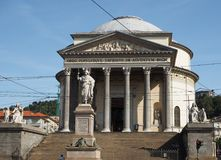 Gran Madre church in Turin Stock Photography