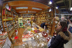 Gran Mercato food market near San Lorenzo in Firenze Florence, Italy Stock Image