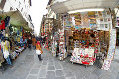 Gran Mercato market near San Lorenzo in Firenze Florence, Italy Stock Photography