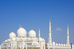Gran mezquita, Abu Dhabi, emiratos fotos de archivo libres de regalías
