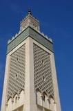 Gran mezquita de París Imágenes de archivo libres de regalías