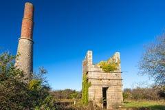 Gran mina Cornualles del trabajo Imagenes de archivo