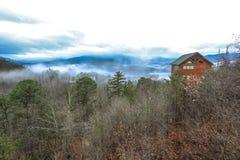 Gran montaña ahumada Fotos de archivo