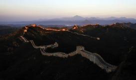Gran Muralla Fotos de archivo libres de regalías
