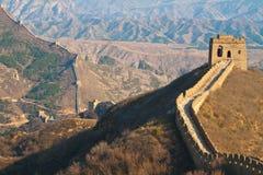 Gran Muralla, China foto de archivo libre de regalías