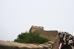 Gran Muralla de Badaling Fotografía de archivo