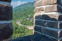 Gran Muralla de China Fotos de archivo