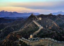 Gran Muralla de China fotografía de archivo libre de regalías