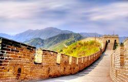 Gran Muralla de China Imagenes de archivo