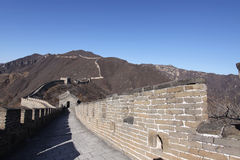 Gran Muralla de China del mutianyu de China Imagenes de archivo