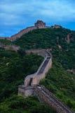 Gran Muralla de Jinshanling de China Imagen de archivo libre de regalías