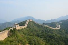 Gran Muralla de las montañas de China Fotografía de archivo