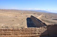 Gran Muralla dejada Fotografía de archivo libre de regalías