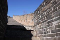Gran Muralla del mutianyu de China Imagen de archivo libre de regalías