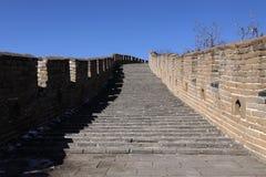 Gran Muralla del mutianyu de China Imagenes de archivo