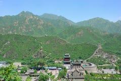 Gran Muralla en China Imágenes de archivo libres de regalías