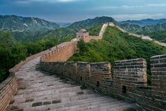 Gran Muralla en el condado de Yanqing fotografía de archivo libre de regalías