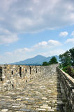 Gran Muralla ming de Nanjing Fotografía de archivo