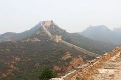 Gran Muralla salvaje Imagen de archivo libre de regalías