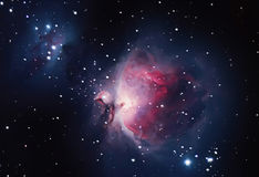 Gran nebulosa en Orión, 42 más sucios Imágenes de archivo libres de regalías