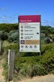 Gran océano camino de Australia, VIC, Foto de archivo libre de regalías