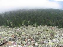 Gran paisaje de la montaña Fotos de archivo libres de regalías