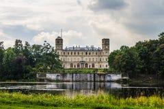 Gran palacio de Gatchina Imagen de archivo libre de regalías