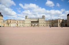 Gran palacio de Gatchina fotos de archivo
