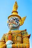 Gran palacio en Bangkok Foto de archivo