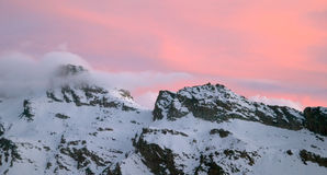 gran paradiso βουνών Στοκ εικόνες με δικαίωμα ελεύθερης χρήσης