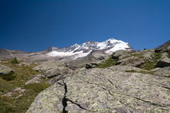 Gran Paradiso Stock Photo
