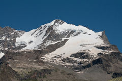 Gran Paradiso. (mt 4061)photographed by plain Nivolet in Valsavaranche (Valle d'Aosta royalty free stock image