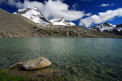 Gran Paradiso Stock Photography