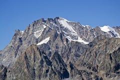 Gran Paradiso (4061mt) Italien Stockbilder