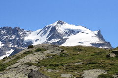 Gran Paradiso - Alps Royalty Free Stock Images