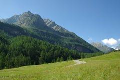 Gran Paradiso, Italia Fotos de archivo libres de regalías