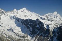 Gran Paradiso. (4061m) in Aosta valley, Italy Alps Royalty Free Stock Photos