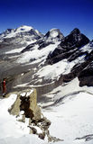 Gran Paradiso mountains Royalty Free Stock Photo